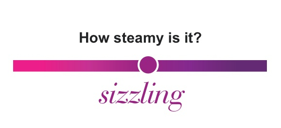 How steamy is it? Sizzling