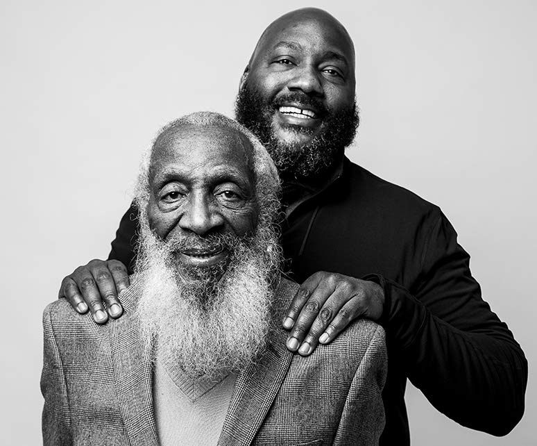 Dr. Christian Gregory on his father Dick Gregory Interview
