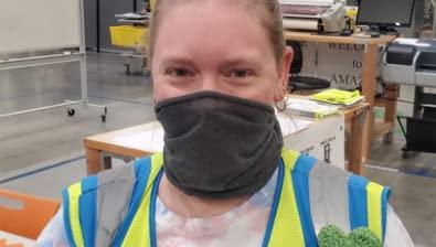 Masked Employee