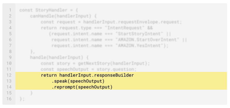 Slots and Session Attributes in the ASK SDK for Node js