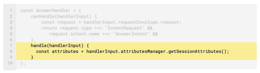 Code Deep Dive: Slots and Session Attributes in the ASK SDK