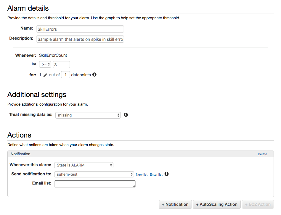 How to Monitor Custom Alexa Skills Using Amazon CloudWatch ...