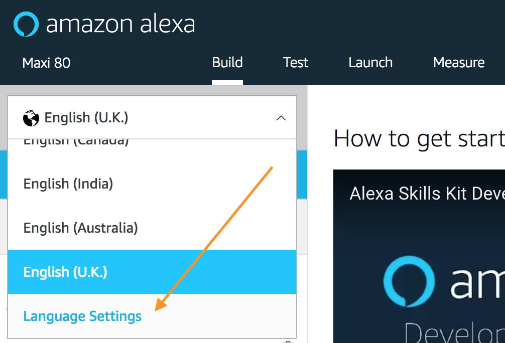How to update your alexa skills for italy alexa blogs in this example the skill already has language models for several english models and italian m4hsunfo
