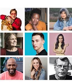 2019 celebrity book picks