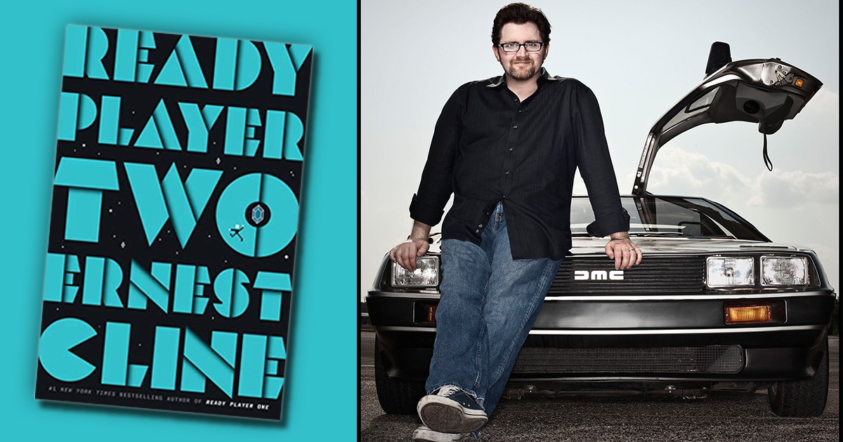 Ernest Cline on privacy, positivity, and 'Ready Player Two'