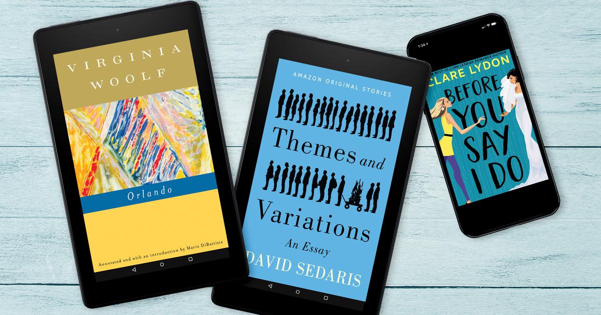 Books celebrating Pride in Kindle Unlimited