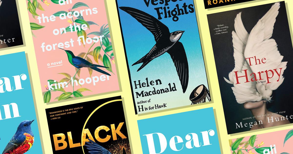 Book design trend: Put a bird on it