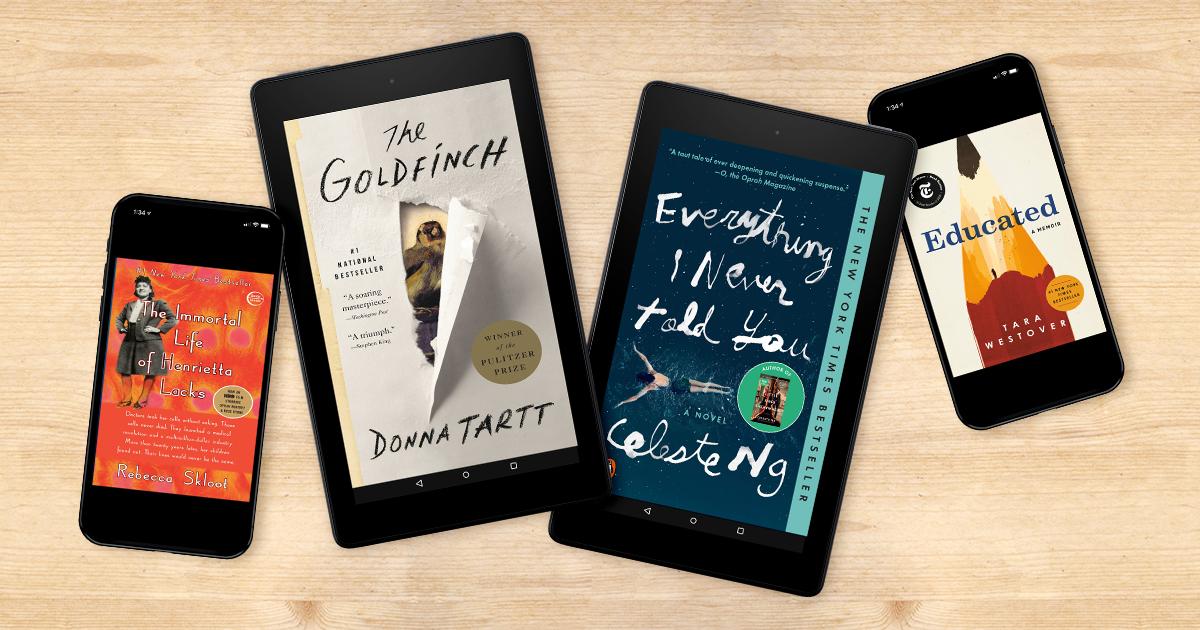 A decade of #1 books