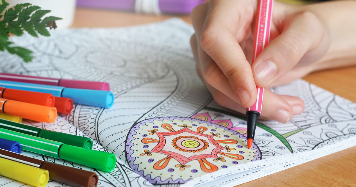 Adult coloring books, yes it's still a thing