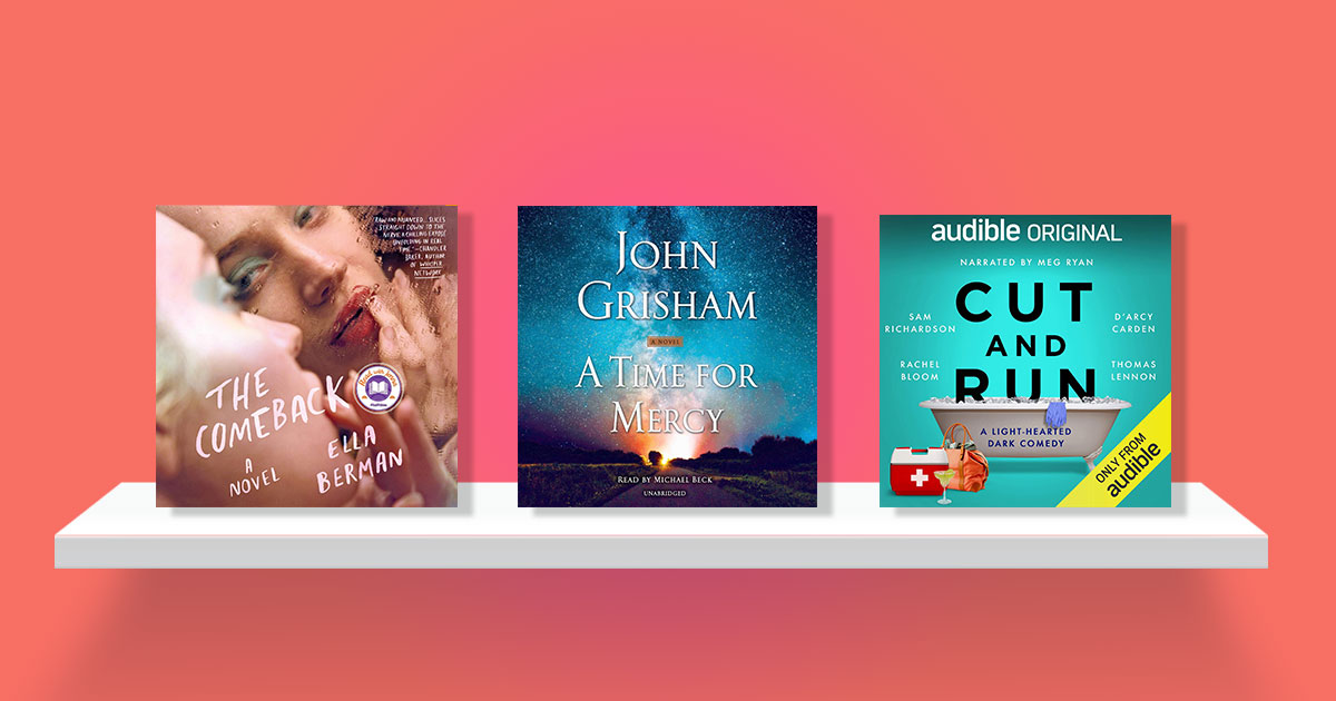 Sit back, relax, and listen to an audio book