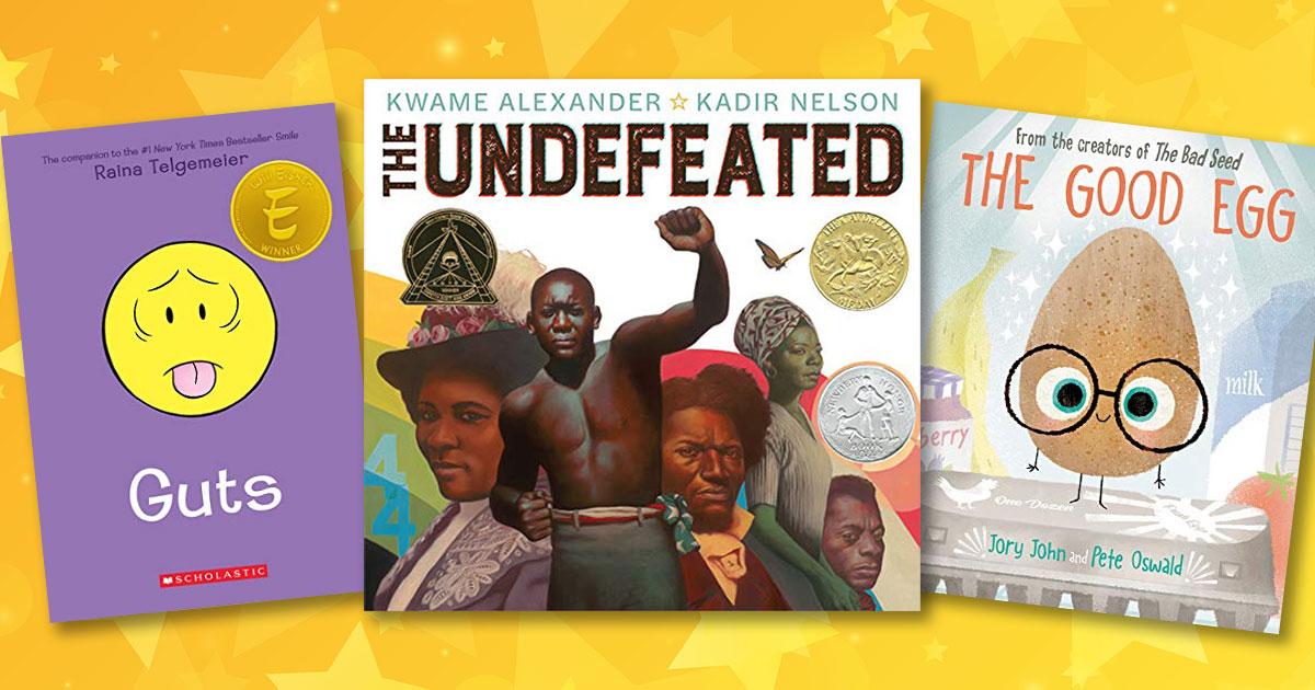2020 Children's Choice Book Award finalists