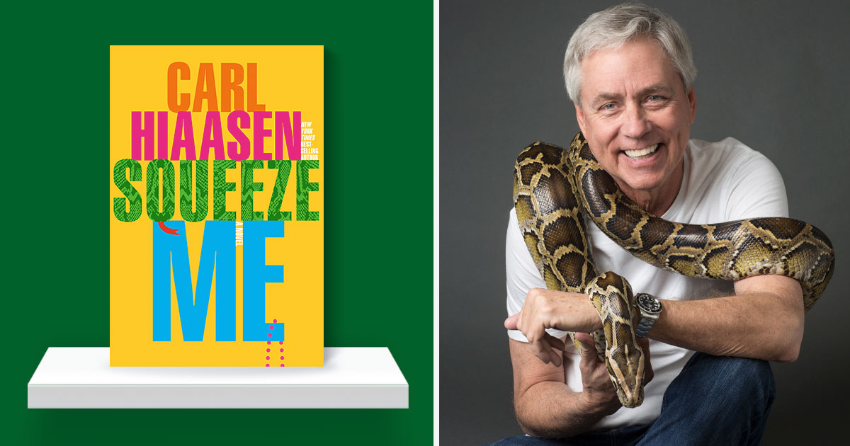Give us a little squeeze: A Q&A with Carl Hiaasen