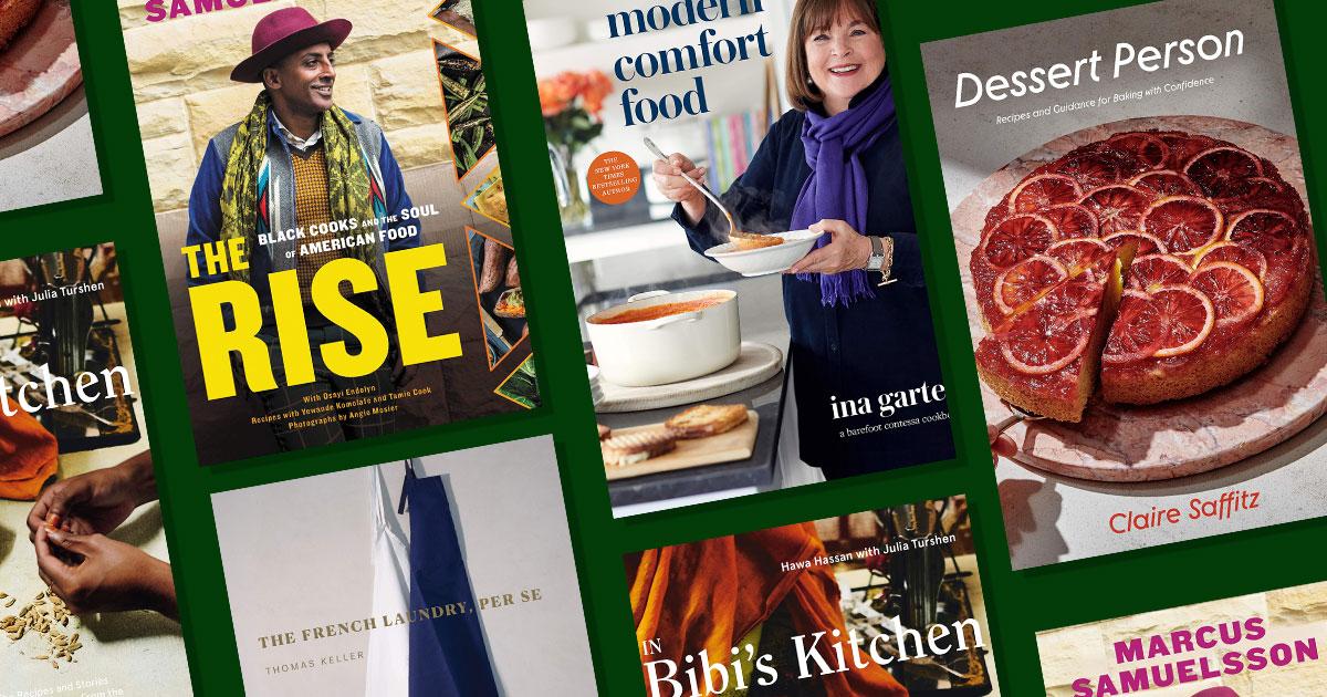 The best cookbooks of October
