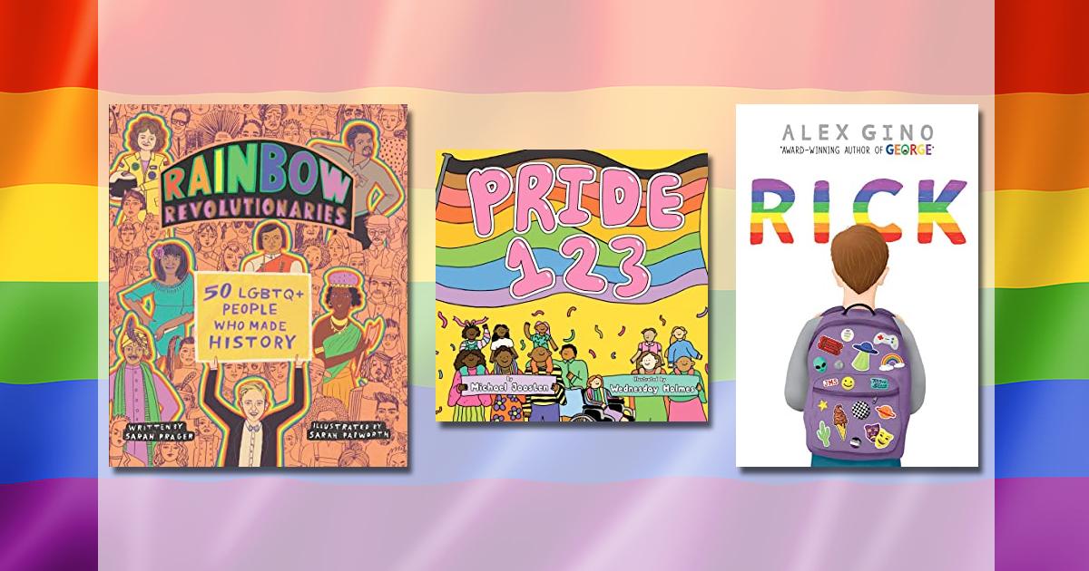 Children's books honoring Pride month