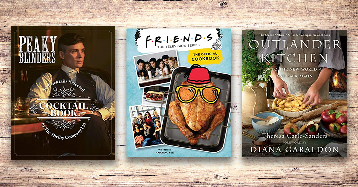 TV dinners: cookbooks from your favorite shows