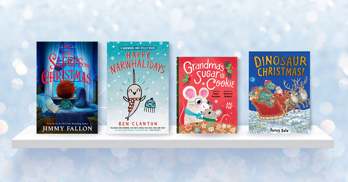 Kids' books for the countdown to Christmas