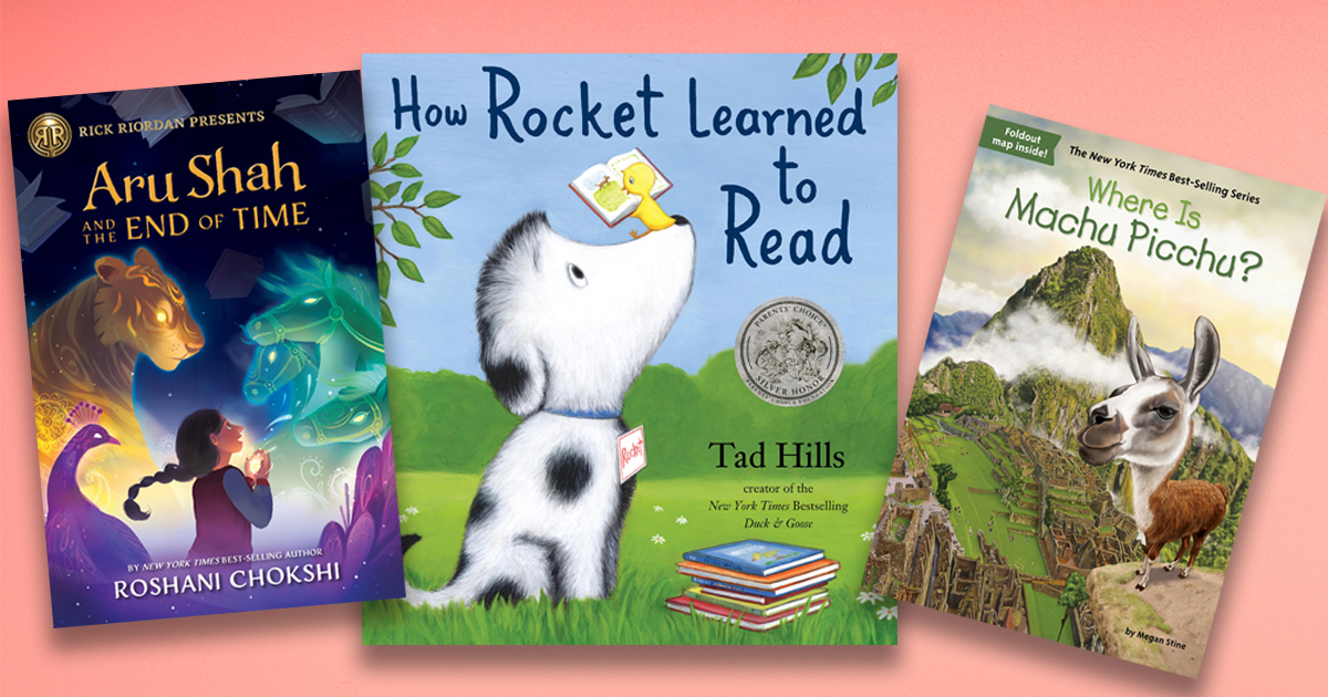 Five educational--and entertaining--book series for kids