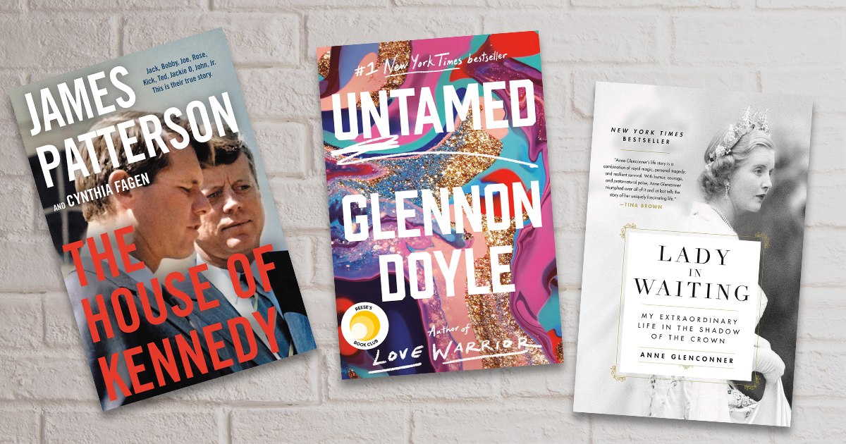 5 memoirs and biographies we can't wait to read this Spring