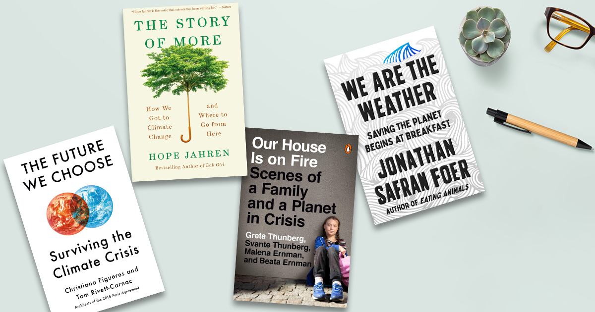 On global warming: 5 books for better understanding a sometimes heated topic