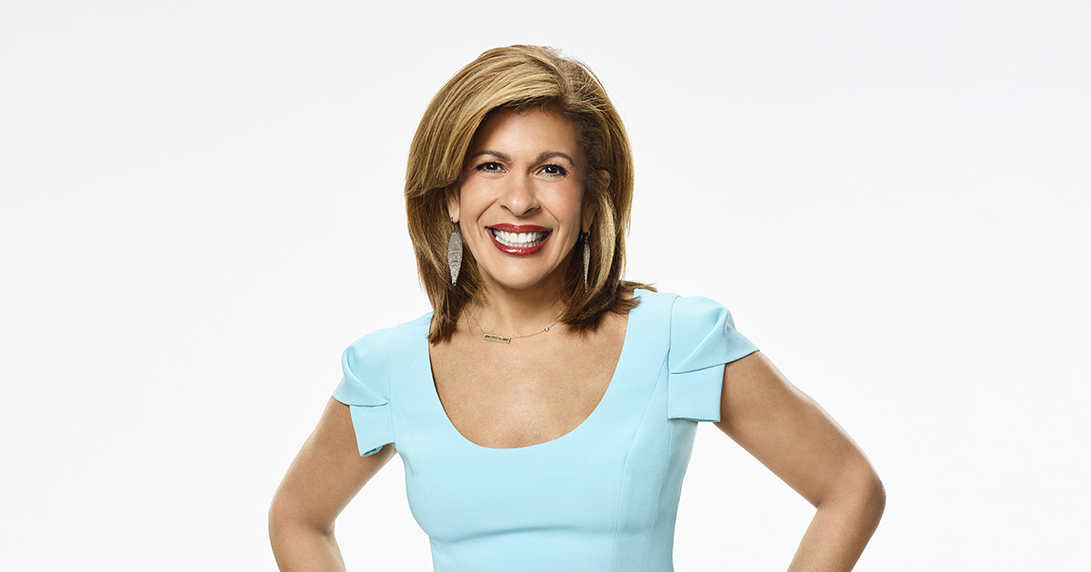 Hoda Kotb, photo copyright Patrick Randak