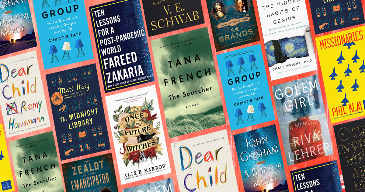 Amazon's best books of October