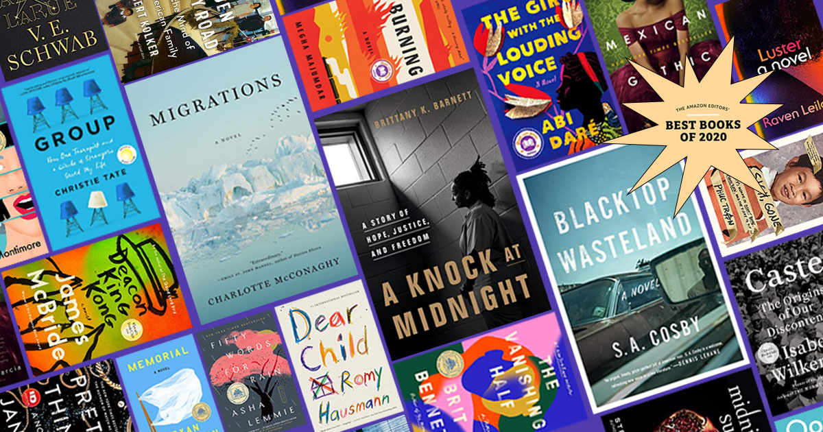 Announcing the Amazon Editors' Best Books of 2020