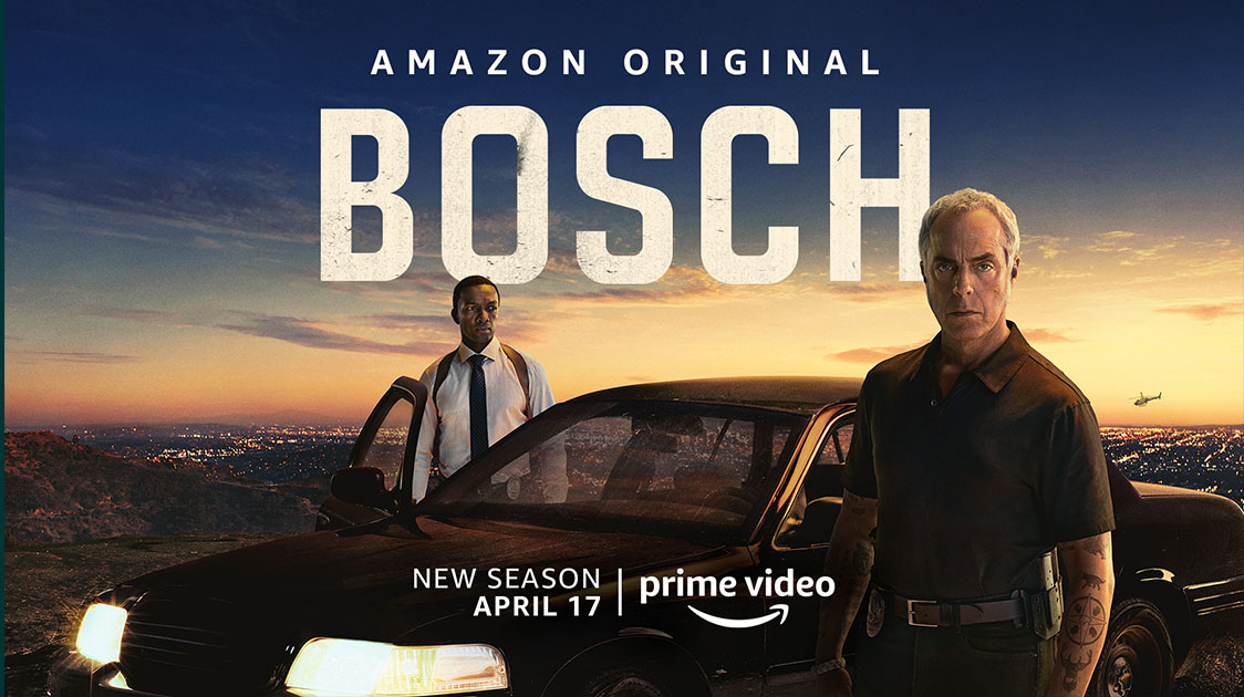 Bosch Season 6 is available today and we talk to author Michael Connelly