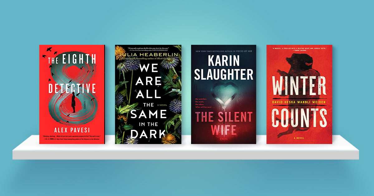 The best mysteries and thrillers of August