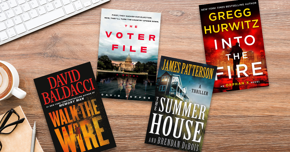6 great thrillers for Dad on Father's Day