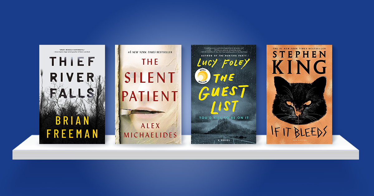 Amazon Charts: Most Sold mysteries of 2020 so far
