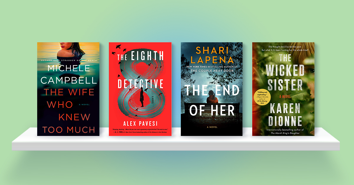 10 summer thrillers you won't want to miss