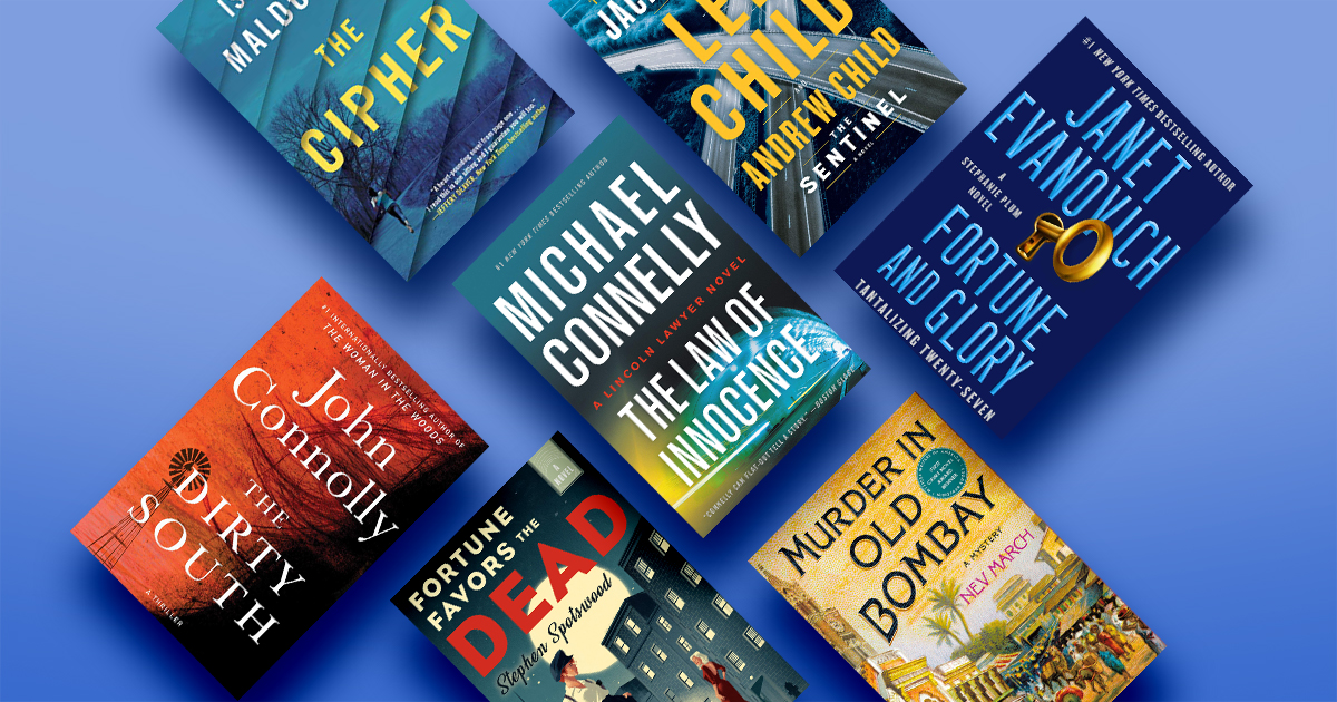The best mysteries and thrillers of November