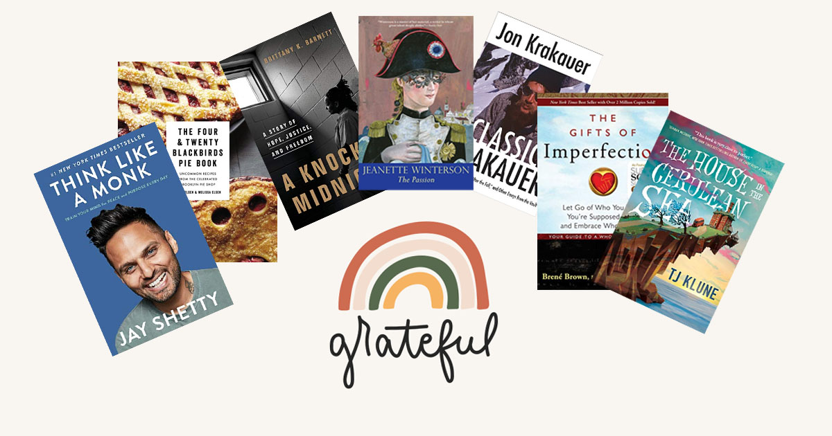 The books we are grateful for