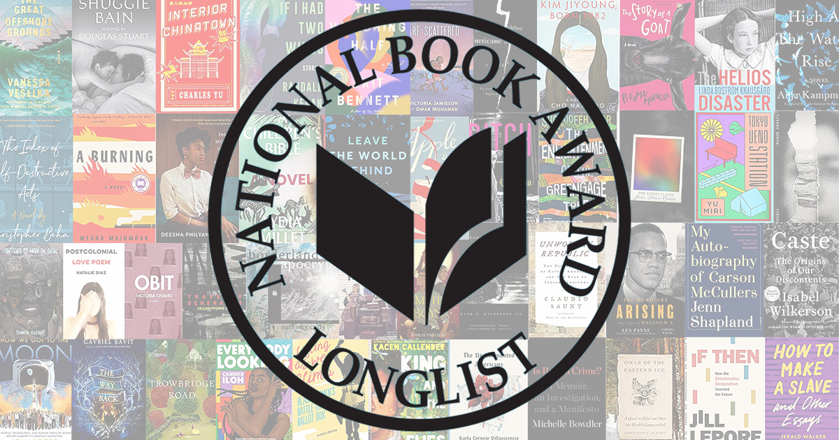 2020 National Book Award Longlists announced