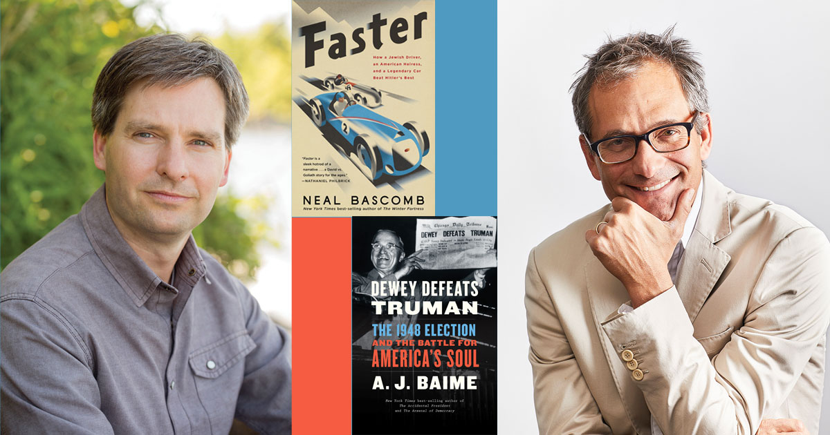 Neal Bascomb and A.J. Baime write about much more than cars in