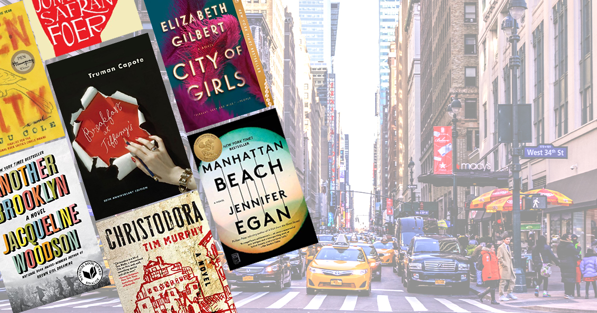 Novels to transport you to New York City