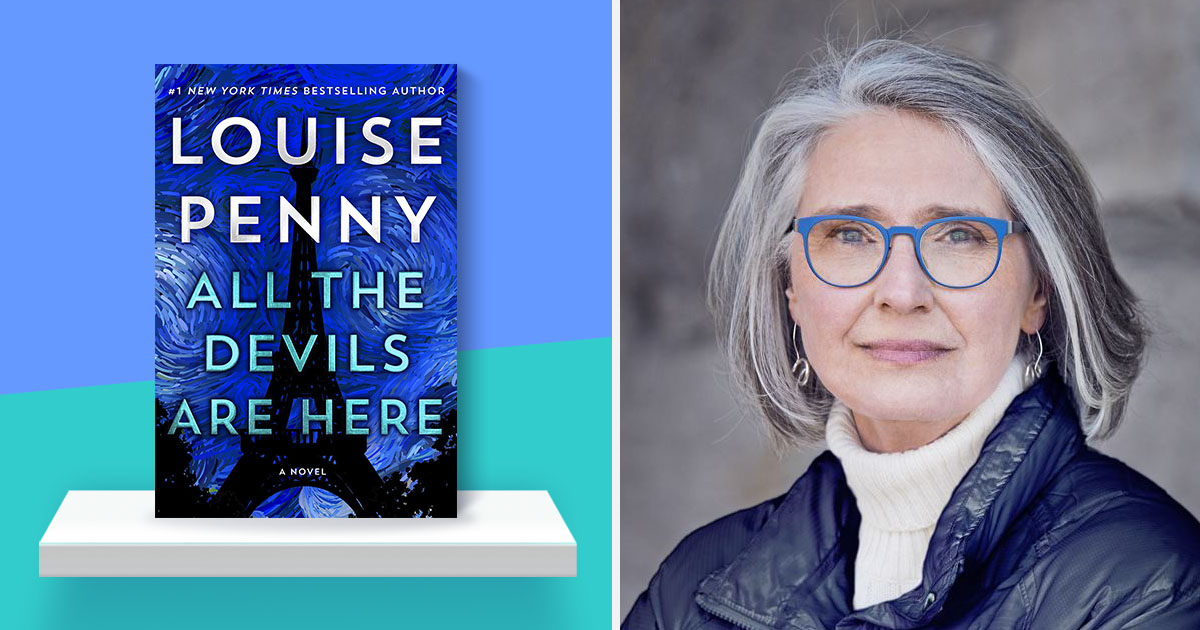 Louise Penny on Gamache, Paris, and moments of grace