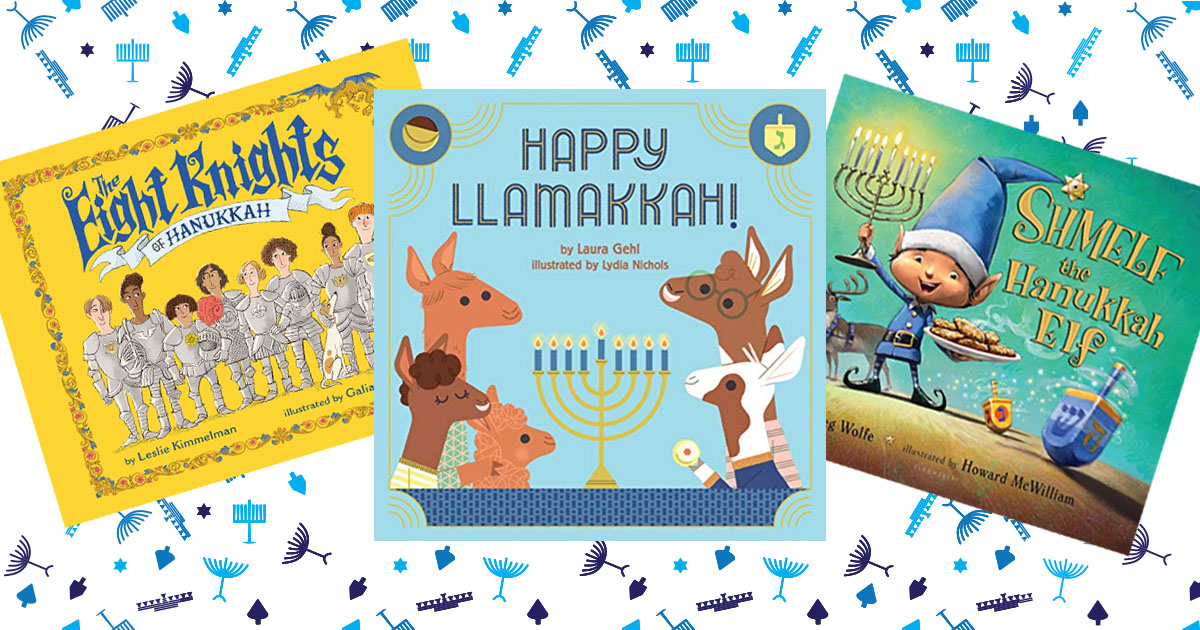 Kids books for Hanukkah: Gift a book a night