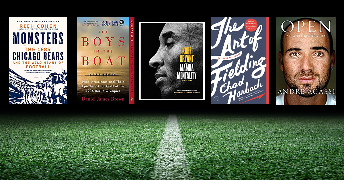 Craving the thrill of sports? Here are 10 books to jog your competitive edge