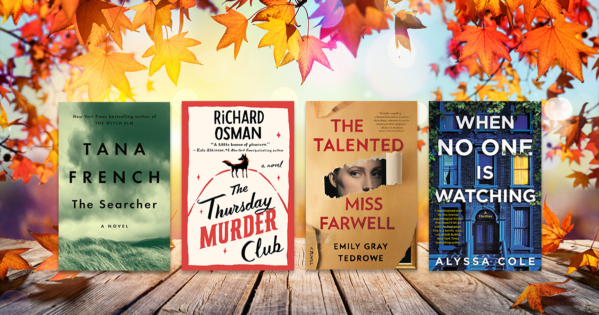 12 must-read mysteries and thrillers coming this fall