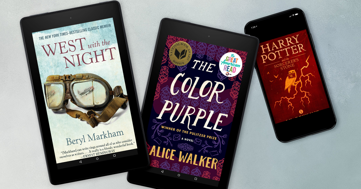 7 books by women who changed history and reading—now in Kindle Unlimited