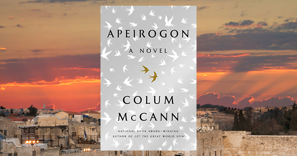 An interview with Colum McCann about his new novel