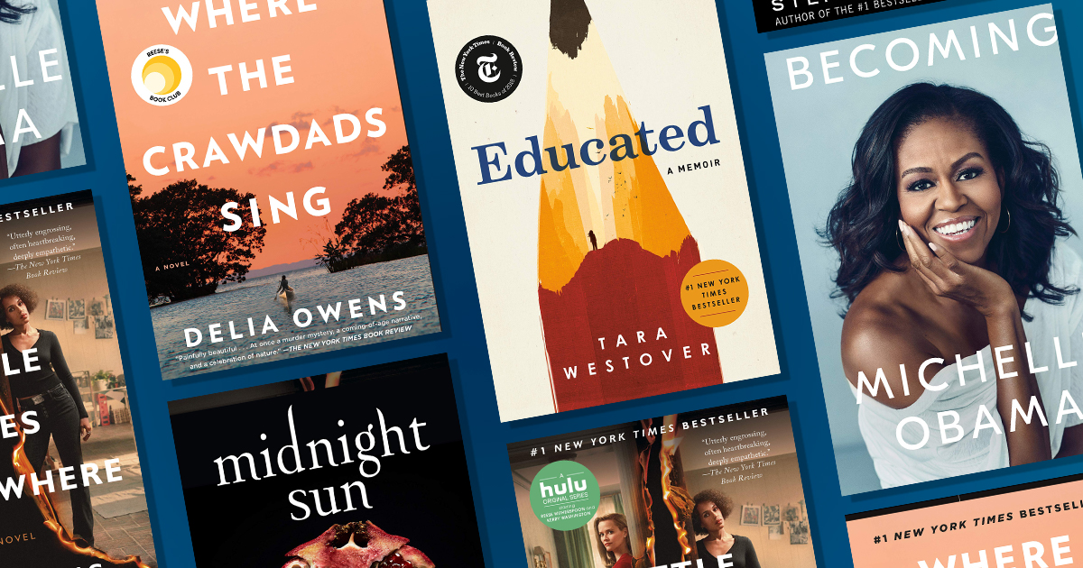 Most Read books of 2020, according to Amazon Charts