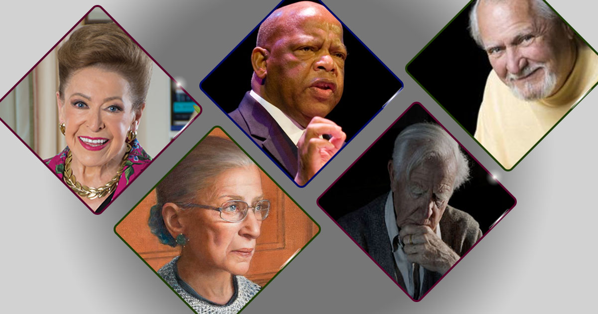 We miss you already... Beloved authors we lost in 2020