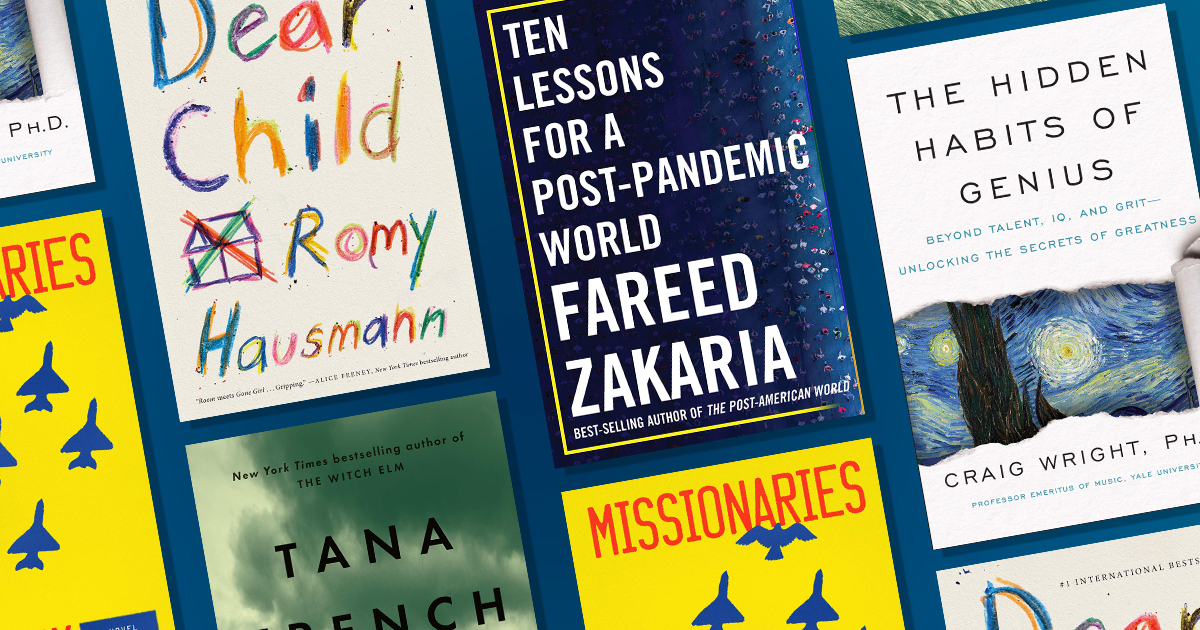 Amazon's best books of October: This week's releases