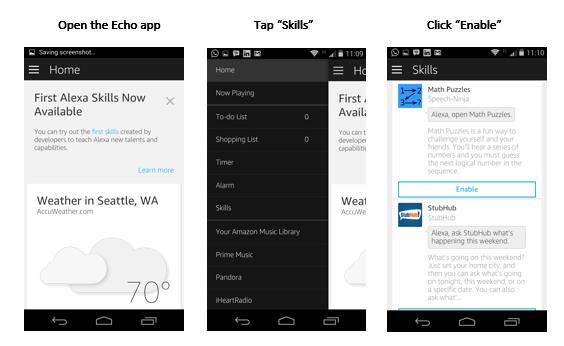 Amazon Echo Skills Development For Free