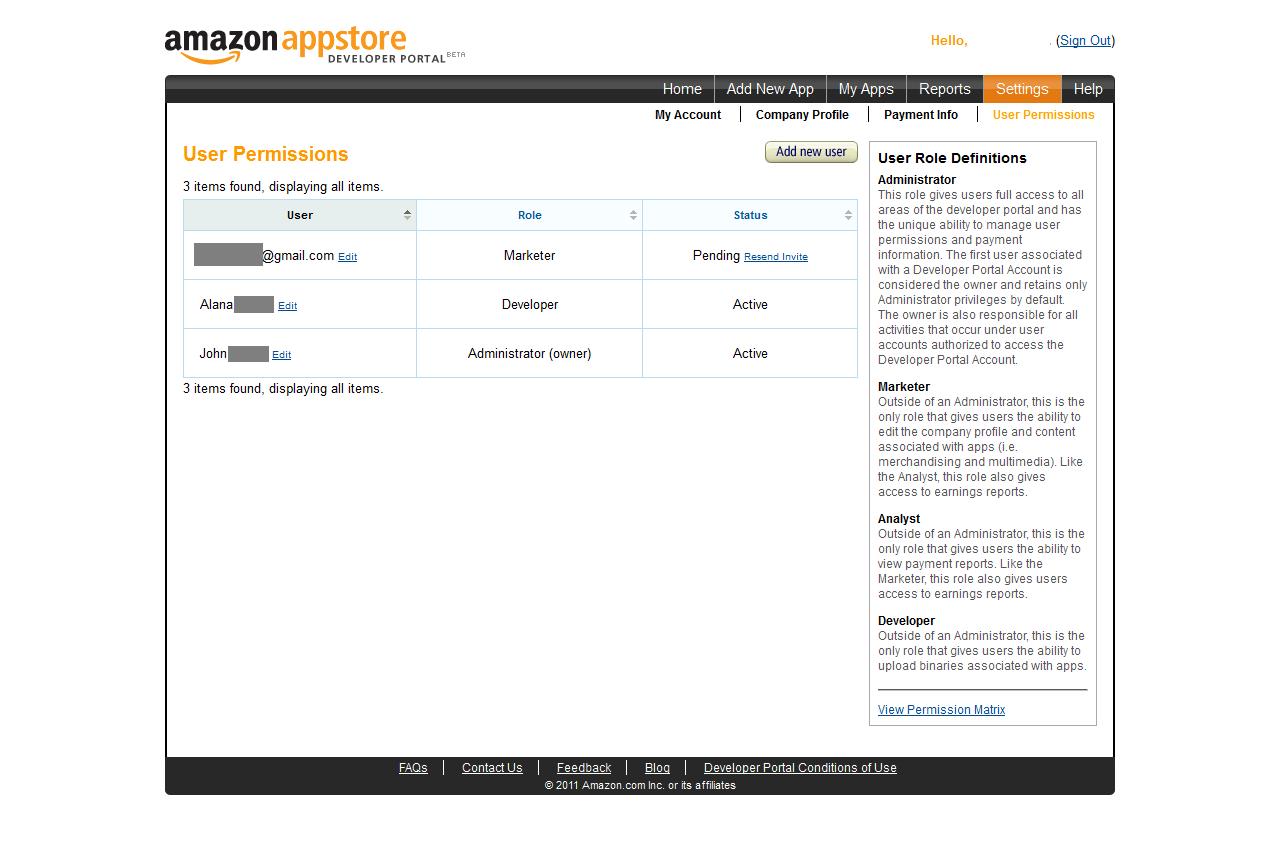 how to delete amazon developer account