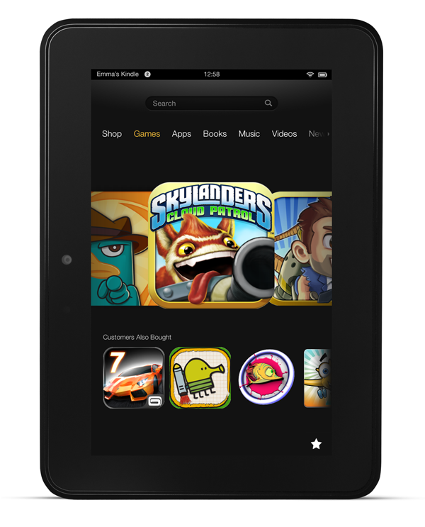 A Glimpse of the All-New Gaming Experience on Kindle Fire