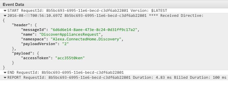 Coding Smart Home Skill Adapter Directives Using Node js