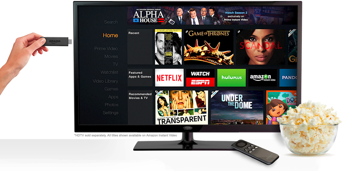 Building Apps and Casual Games for the Amazon Fire TV Stick